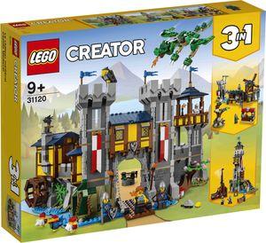 LEGO Creator 31120 - Mittelalterliche Burg Konstruktionsspielzeug, mit Drachen Figur