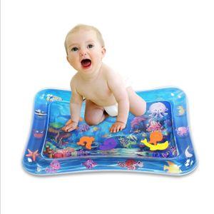 Babyspielzeug,Wasserspielmatte, Activity Center, Baby-Krabbel,3 bis 24 Monate