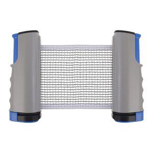 Teleskop-Tischtennisnetz, Tragbares Tischtennis-Zubehörnetz, Geeignet für Alle Tischtennisplatten, Einstellbare Länge