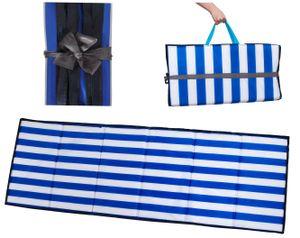 Strandmatte Picknickdecke wasserdicht gepolstert Faltbar 10065