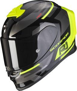 Scorpion EXO-R1 Air Orbis Helm Farbe: Schwarz/Gelb, Grösse: S (55/56)