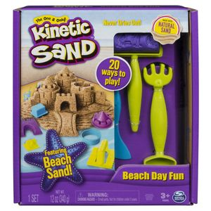 Spin Master 51556 KNS Kinetic Sand - Beach Day Fun Kit (340 g)