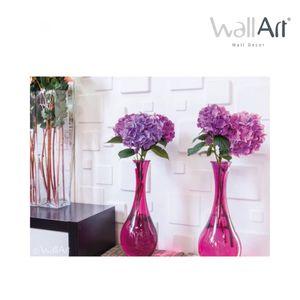 WallArt 3D-Wandpaneele Squares 12 Stk. GA-WA09