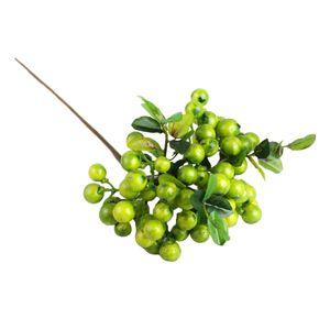 1 Stück künstliche Beeren ,, Farbe Grün