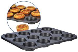 12er Muffinform Muffin Form Backform 12 Loch Antihaftbeschichtet