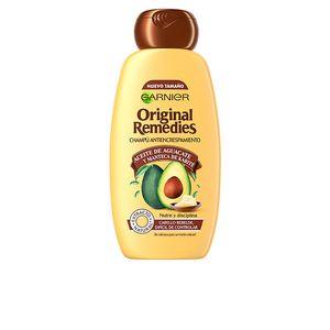 Shampoo Haarwäsche Anti-Frizz Original Remedies Garnier (300 ml)