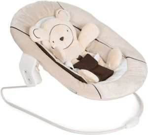 Hauck Babywippe Alpha Bouncer 2 in 1, Farbe:Hearts Beige