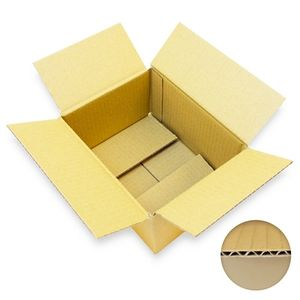 1200 x Kartons 200 x 150 x 100 mm 1.20 B-Welle (3 mm) - Versandkartons