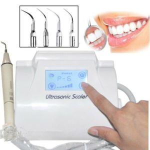 220V LCD Dental Ultraschall Piezo Scaler Zahnsteinentferner mit Fußpedal Neu Handpiece