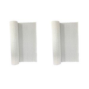 2pcs Weiß Antirutschmatte Rutschmatten Rutschmatte für Küche Auto Schubladen