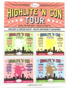 The Balm Highlite'n Contour Highlight Kontur Palette