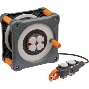 Kabeltrommel mit Powerblock IP44 33+5m H07RN-F 3G2,5   professionalLINE