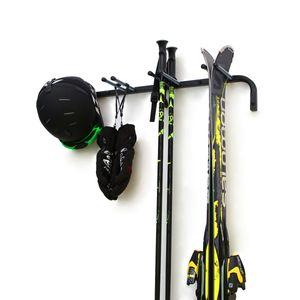 Skihalterung Skiwandhalter für 4 Paar Ski Skiträger Skihalter Skiaufbewahrung