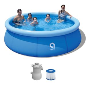 Swimming Pool mit Filterpumpe - Gartenpool 305 x 76 cm