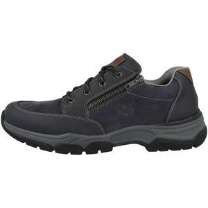 Rieker 11230-15 Herren Schnürschuh Blau Extra Weit - Herrenschuhe Sneaker / Schnürschuh, Blau