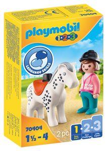 PLAYMOBIL 70404 Reiterin mit Pferd