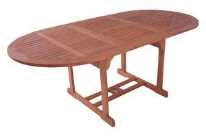 Ausziehtisch Esstisch Holztisch Gartentisch Balkontisch Tisch ausziehbar