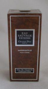 Christian Dior Eau Sauvage Extreme 50 Ml Spray Eau de Toilette Concentree