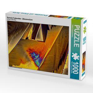 Calvendo Surreale Farbwelten - Zitronensäure 1000 Teile Puzzle quer 640x480mm, Schenckenberg Dieter; 7456359