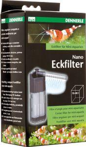 Dennerle Nano Eckfilter - Aquarium Innenfilter für klares, gesundes Wasser