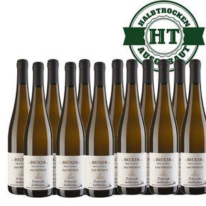 Weißwein Rheinhessen Scheurebe Weingut Becker halbtrocken (12 x 0,75 l)