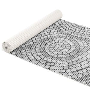 Mosaiksteine Steine in Grau 100x65cm