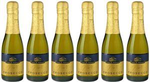 6x Prosecco Spumante Brut Il Fresco 0,2L 0 – Weingut Villa Sandi, Veneto – Weißwein