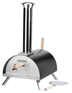 NEUSTEIN Outdoor Pizzaofen XQ3000 mit Pizzastein, Pizzaschieber, Abdeckung, Holzofen