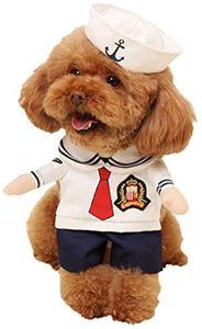 Reizende Katzenkostüm Hunde Haustier Kleidung, HundeKostüm Hundebekleidung Kostüme Kleidung Katze lustiges Kleid Cosplay, S, Farbe4