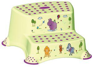 "keeeper kids Tritthocker ""igor hippo"" zweistufig grün"