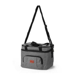 Lunch Bag Handisolationsbeutel Picknick-Isolierbeutel Pendler tragen Lunch Tools Food Bag fuer die Arbeit