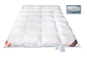 Canada Daunendecke  135x200cm   mit 100% Canada Polar Landdaunen Klasse 1 für erholsamen Schlaf