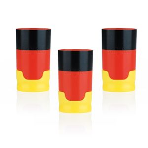 Taste Hero Deutschland Bier-Aufbereiter - schwarz/rot/gold - 3er-Set