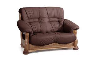 Max Winzer Tennessee Sofa 2-Sitzer - Farbe: burgund - Maße: 148 cm x 95 cm x 95 cm; 2919-2100-9210035-F04