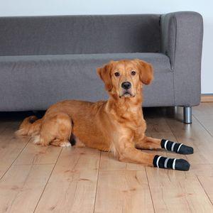 Trixie Hundesocken, Anti-Rutsch, 1 Paar, schwarz, L