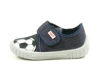 Superfit 0-00273 Bill Schuhe Kinder Hausschuhe Jungen Weite Mittel IV , Größe:24, Farbe:Blau