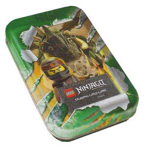 LEGO Ninjago - Serie 4 Trading Cards - 1 Mini Tin GRÜN - Deutsch