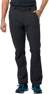 Jack Wolfskin Herren Wander Trekking - Hose ACTIVATE XT PANTS MEN schwarz, Größe:25