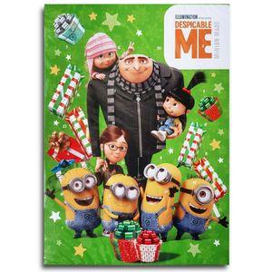 Minions Motiv B Schokoladen Adventskalender Vollmilch Schoko Weihnachts Kalender