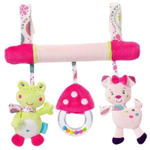 Baby-Kinderwagen Spielzeug Frosch und Katze