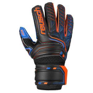 Reusch Attrakt S1 Evolution Black / Shocking Orange / Deep Blue 6