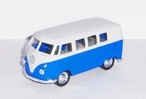 Welly VW Bully 10cm Met Freilauf 3f Display=12