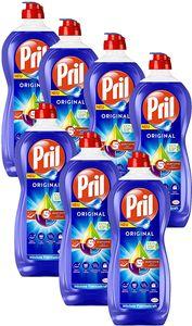 Pril 5 Plus Original, Handgeschirrspülmittel 7x675 ml Geschirr Spülmittel