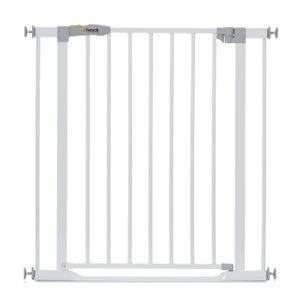 Hauck Clear Step Gate white