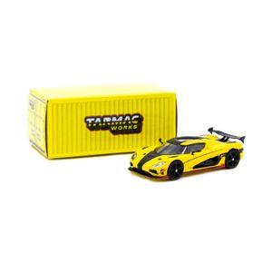 Tarmac T64G-005-ML Koenigsegg Agera RS gelb Maßstab 1:64