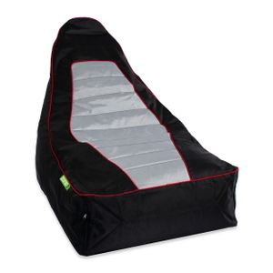 Green Bean © Zone3 Lounge Chair - Gaming Sitzsack 90x55x75 cm - Indoor Beanbag - Gamingstuhl Gamer - Bean Bag Lounge Chair für Kinder & Erwachsene - Race