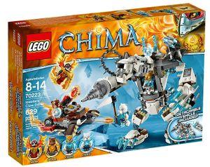 Lego 70223 Legends of Chima - Icebites Eisbär-Mech