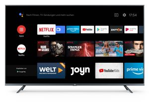 "Xiaomi Mi 4K Ultra HD LED, 138,8cm (55 Zoll), MI SMART TV 4S 55"", Android TV 9.0, Triple Tuner"
