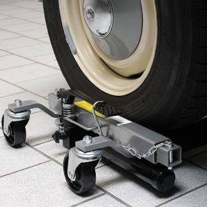 PKW Rangierhilfe 2x Wagenheber hydraulisch je 680 KG Tragkraft bis 30 cm Reifenb