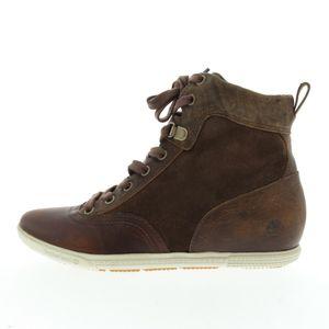 Timberland - Größe 37,5 - Damen Schnürhalbschuh - Braun, Größe Schuhe Erwachsene:37,5, Farbe Timberland:Braun